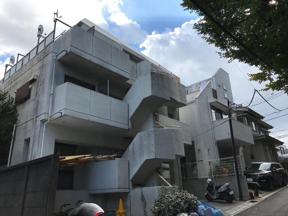 渋谷区改修工事施工前