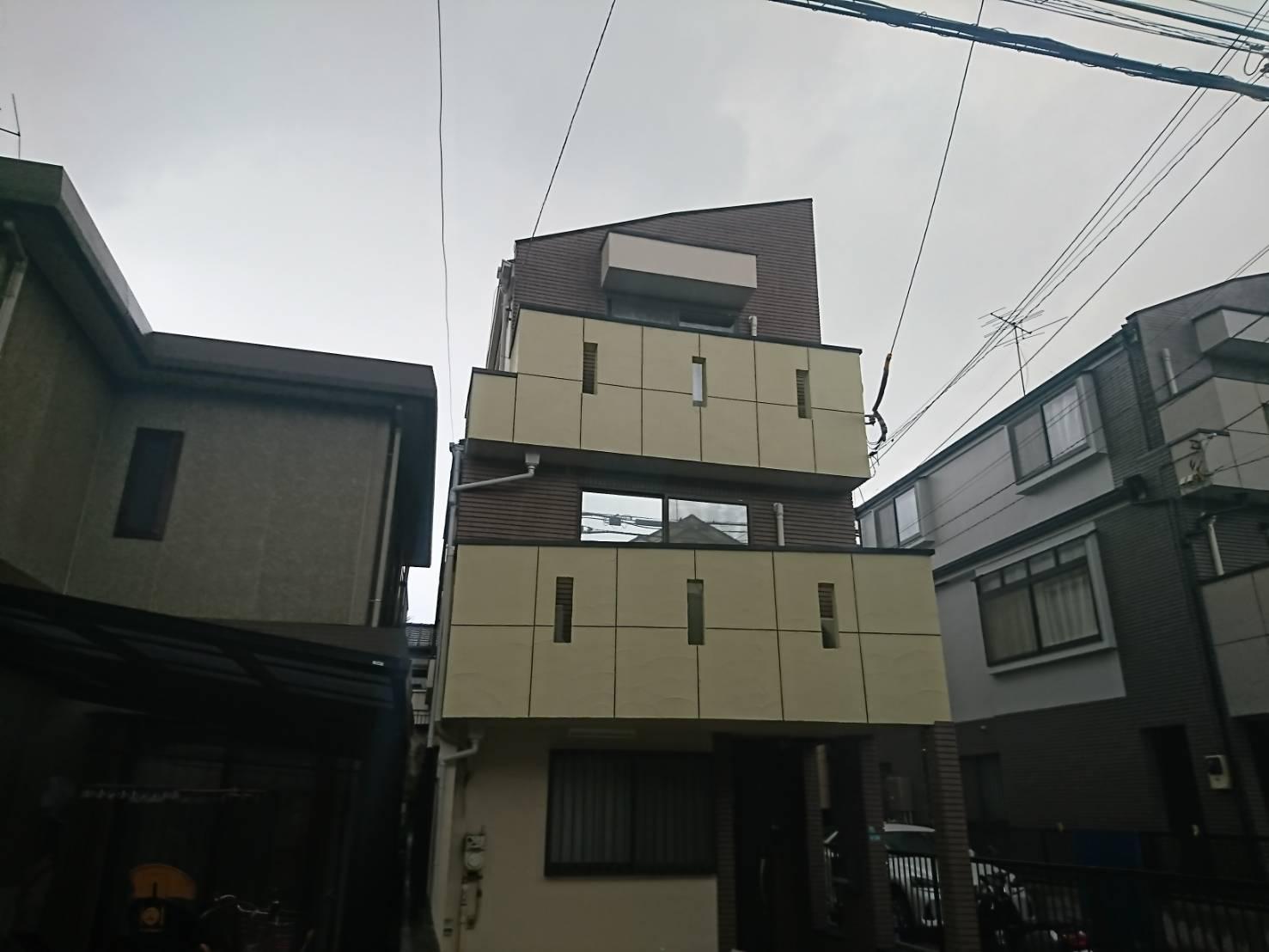 目黒区戸建住宅塗装工事施工後