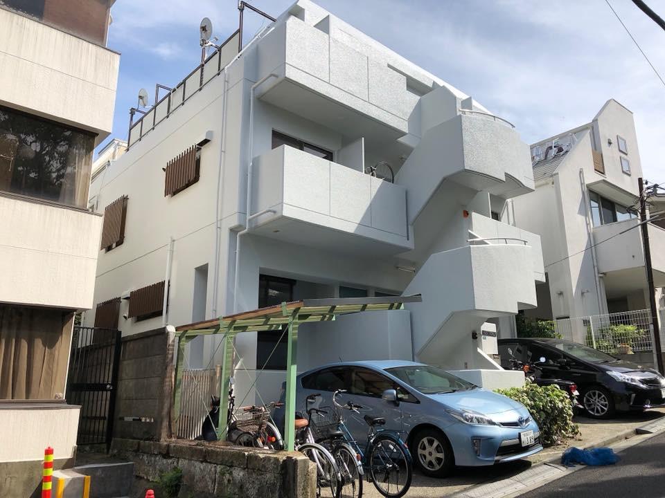 渋谷区改修工事施工後