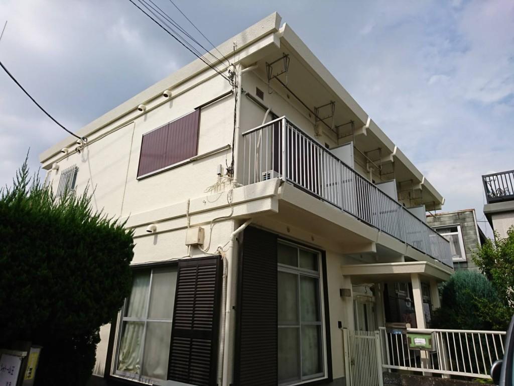 大田区アパート塗装工事